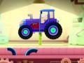 Гонки на тракторах. Собираем трактор и устраиваем гонки. Смотреть мультик про тракторы для малышей