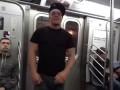 DANCE IN SABWAY.Нью-Йорское метро - Танцы в вагоне. MTA Transit