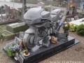 В память погибшим байкерам...