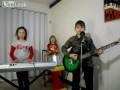 Молодой ансамбль играет кавер Рамштайн