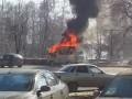 В центре Ульяновска взорвалась машина скорой помощи