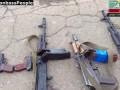Константиновка. Оружие, изъятое у Правого Сектора!