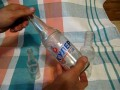 Резьба на стеклянных бутылках