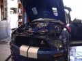 Взрыв мотора на дино-стенде