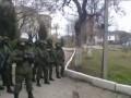 Украинские офицеры недопустили вывоз оружия с учебного отряда ВМС Украины (Севастополь)