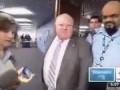 Мэр Торонто Роб Форд врезался в камеру журналиста