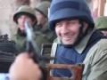 Михаил Пореченков стреляет из пулемета в аэропорту 31.10.2014