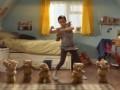 Пух, перья и медведи, реклама шоколадных хлопьев (New Weetabix Chocolate Spoonsize Advert)