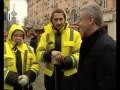 Собянин встретился с русскими дворниками в Москве