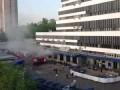 Почта России: дым после пожара (HD)