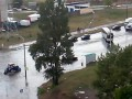 Выталкивание авто из воды