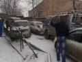 Жертвы первого снега во Владивостоке