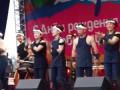 День города Красноярска 2012. Японцы поют Катюшу.