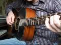 Московская песня на гитаре