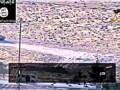 Взрыв сирийского танка