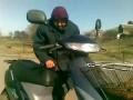 Баба Катя на скутере в 78 лет