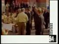Ельцин дирижирует оркестром и поёт