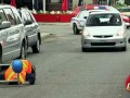Disappearing Roadblock Prank