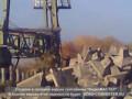 Завалили кран в Архангельске