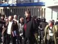 Русская весна Луганск. Начальник СБУ вышел к народу. 22.03.2014