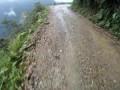 Неудачный прыжок велосипедиста