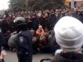 Захват в плен Евромайдановцев в Харькове 01.03.14. Последние новости
