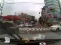 Жесткая авария на перекрестке в Корее#2015//Hard accident at an intersection in Korea#2015