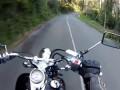 Мотоциклист ехал себе спокойно и вдруг неожиданно
