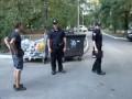 На Патрульного Полицейского в Киеве Напал Отдыхающий Мужик в Трусах