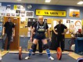 Становая тяга 130 кг в 91 год