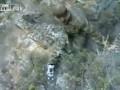 Падает со скалы  ... Улыбнись :) фото на будущее ...