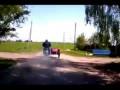 Неуловимый мотоциклист, погоня. Солигорск (д. Первомайск)
