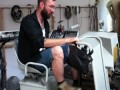 Nik Nowak driving his Soundtank