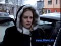 Девушка парализовала движение в центре Иркутска