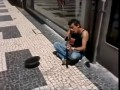 Street artist doing Nirvana cover (Heart Shaped Box)