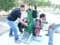 put-put old diesel engine