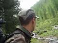 Горный Алтай, переход через Ильтускан