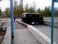 Парковка УАЗика у РТЦ