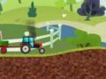 Трактор везет грузы. Смотреть мультик про трактор. Мультфильм для малышей. Веселый трактор
