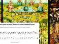 «адская мелодия» с картины Босха