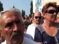 Выступление Ткачева перед пострадавшими в Крымске