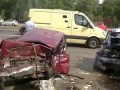 Эксклюзивное видео страшного ДТП на Ярославке 16.07.2014