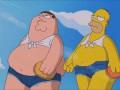 Гомер и Питер на лабутенах нах