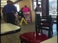 Fight at McDonalds over breakfast menu