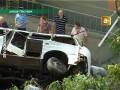 В Одессе маршрутка упала со склона