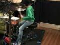 Барабанщик. Соло на ударных 10-летнего мальчика