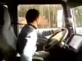 Cum se conduce in Romania  Insane Romanian truck driver