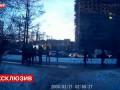 Избиение активистов «Стопхама» в Петербурге попало на видео