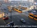 Czołowe zderzenie tramwajów w Warszawie 29.10.2014