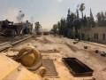 Сирийские танки атакуют зону контролируемую повстанцами
